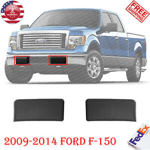 Front Bumper Pad Guard Insert Textured Pair For 2009 2014 Ford F 150 Set Of 2