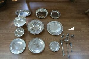 King Francis Reed Barton Silver Plates And Utensils