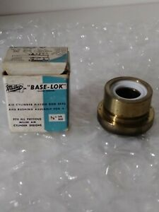 Lot Of 4 miller Base lok Air Cylinder Piston Rod Seal And Bushing Assembly 5 8