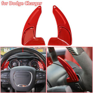 Aluminum Steering Wheel Shift Paddle Extended Shifter Trim For Dodge Charger 15