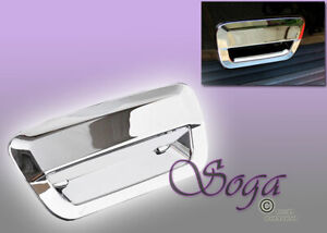For 2014 2018 Jeep Grand Cherokee Wk2 Chrome Trunk Tailgate Handle Cover Us Sell