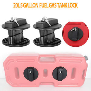 20l Fuel Gas Tank Lock Jerry Can Oil Petrol Container Mounting Bracket Holder