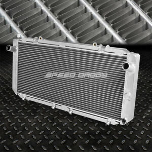 2 row Full Aluminum Core Racing Radiator For 90 99 Toyota Mr 2 Sw22 Sw20 Manual