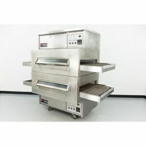 Middleby Marshall Ps360 32 Double Deck Gas Conveyor Pizza Oven warranty