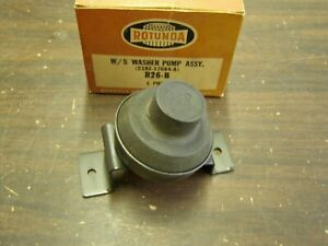 Nos Oem Ford 1960 1964 Washer Pump Rotunda Galaxie Fairlane Truck 1961 1962 1963