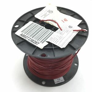 Copperfield 1015bc 18 16 2 Electrical Wire Roll Of 400ft 18awg Red Pvc