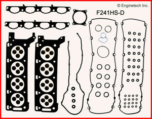 Engine Cylinder Head Gasket Set Enginetech Inc F241hs d
