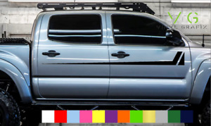 Toyota Tacoma Vinyl Decal Sticker Graphics Trd Sport Side Door X2 Any Color 102