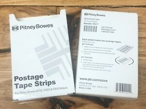 Genuine Pitney Bowes postage Meter Tape Strips 612 7 200 Sheets 400 Strips