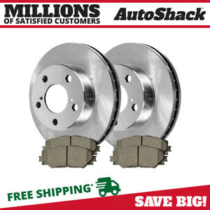 Front Rotors And Metallic Pads For 2009 2011 Toyota Matrix 2009 2013 Corolla