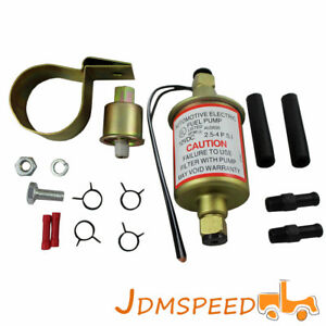 Universal New E8016s Electric Fuel Pump Gas Diesel Marine Carbureted