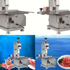 Commercial Electric Bone Saw Machine Frozen Meat Frozen Fish Steak Cutting