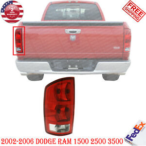Tail Lamp Left Hand Side Assembly For 2002 2006 Dodge Ram 1500 2500 3500