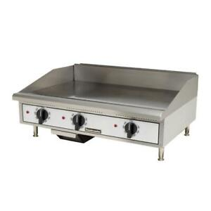Toastmaster Tmge36 36 Countertop Electric Griddle Flat Top Grill