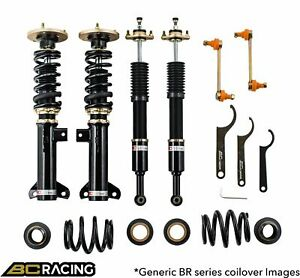 Bc Racing Br Coilovers For 2014 2017 Lexus Is250 350 Rwd Only R 22 Br