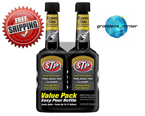 Stp 5 25 Oz Fuel Injector Cleaner Restores Performance 4 Pk Free Shipping