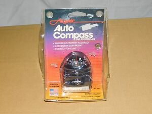 Vintage Car Auto Airguide Auto Compass The Scottsdale Mod 1601 Unused In Package
