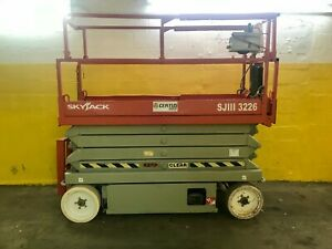 2007 Skyjack Sjiii 3226 Electric Scissor Lift