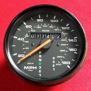 Porsche Odometer Service Repair For Electronic Speedometer 911 944 928