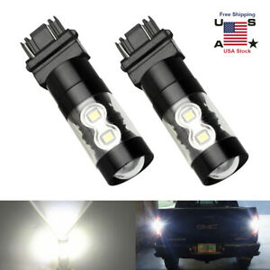 Cree Led 3157 3156 Projector Back Up Reverse Light Drl Brake Light Lamp Fit Ford