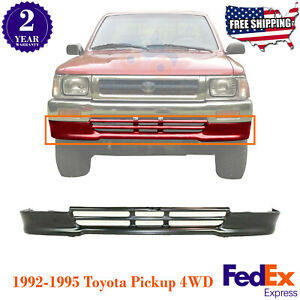 Front Lower Valance Painted Steel Black For 92 1995 Toyota Pickup 4wd
