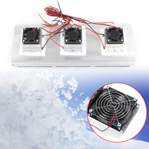 Semiconductor Refrigeration Thermoelectric Cooler Diy Kit Cooler Device Cooling