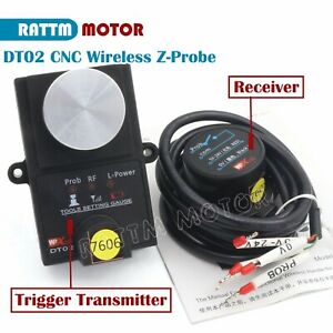 Height Detection Wireless Cnc Mach3 Tool Set Gauge Automatic Tool Probe receiver