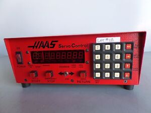 Software 41 Brush 17 Pin Haas Control Box Sco1m Rotary Table Indexer Inv 18 Lms