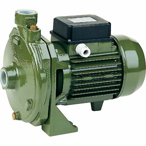 Saer usa Centrifugal Pump 2400 Gph 3 Hp 1in Ports 230 Volts Model Cm1c