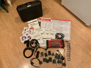 Snap On Tools Mt2500 Diagnostic Scanner Cartridges Adapters Accessories