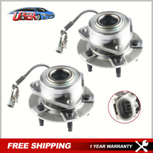 2x Front Wheel Hub Bearing W Abs For Chevy Equinox Saturn Vue Pontiac Torrent