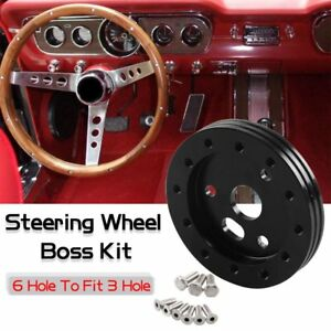 New 0 5 Steering Wheel Hub Adapter Conversion Spacer 6 Holes Fit Grant Apc