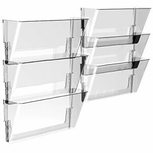 Storex Wall File Legal Clear case Of 6