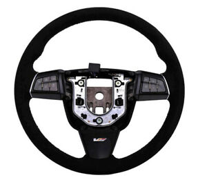 2009 2015 Cadillac Cts V Genuine Gm Automatic Paddle Shift Suede Steering Wheel