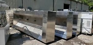 Captive Aire 14ft Hood System Complete With Ansul System Make Up Air Exhaust