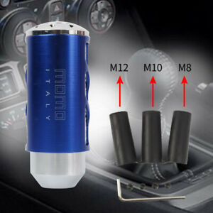 Momo Car Gear Shift Knob Shifter Aluminum Universal Manual Transmission Gear