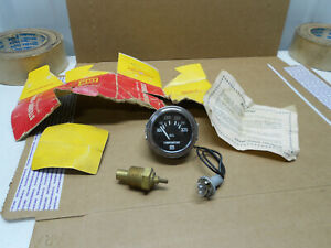 Nos 1960s Usa Made 2 1 16 Stewart Warner 12 Volt Oil Temperature Guage Sender