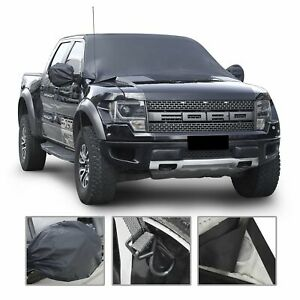 Maktools Car Windshield Snow Cover Extra Large Size For Most Vehicle96 X57 Wi