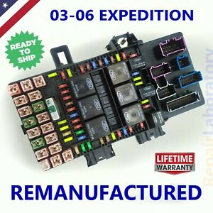 Rebuilt 2003 2006 Ford Expedition Fuse Box
