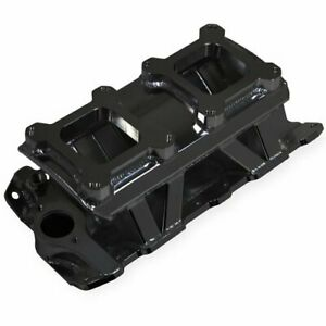 Holley 825072 Sniper Fabricated Intake Manifold Small Block Chevy Dual Quad Sing