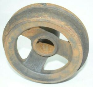 1949 50 51 52 53 Ford Flathead V8 8ba Crankshaft Double Pulley Cast Iron Used