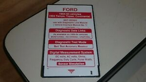 Ford 1984 93 Ngs Scan Tool Diagnostic Card Dq2