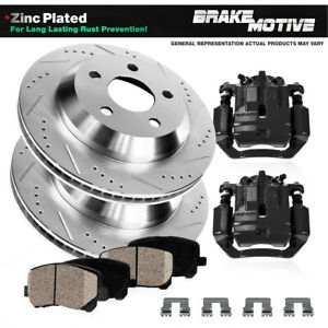 For 1998 2001 2002 Honda Accord Coupe Rear Black Brake Calipers