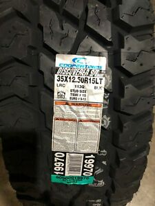 4 New Lt 35 12 50 15 Lrc 6 Ply Cooper Discoverer S t Maxx Mud Tires