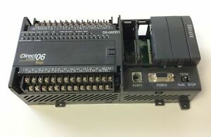 Automation Direct Logic D0 06dd1 Plc 120 240vac In 12 24vdc Out 6 24vdc