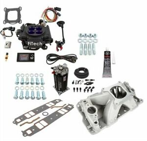 Fitech Fuel Injection 30008k2 Meanstreet Efi Kit Small Block Chevy Includes Fit