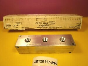 Daman Ah0000308p Aluminum Header Block manifold New In Box Old Stock