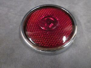Tail Light Lens And Trim Ring Packard 1935 1936 1937 Part 10542 Ja