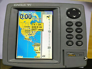 EAGLE FishElite 502c iGPS  Fish Finder(GPS is inside)