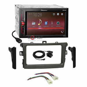 Pioneer Usb Camera Input Stereo Sil Dash Kit Harness For 09 13 Toyota Corolla